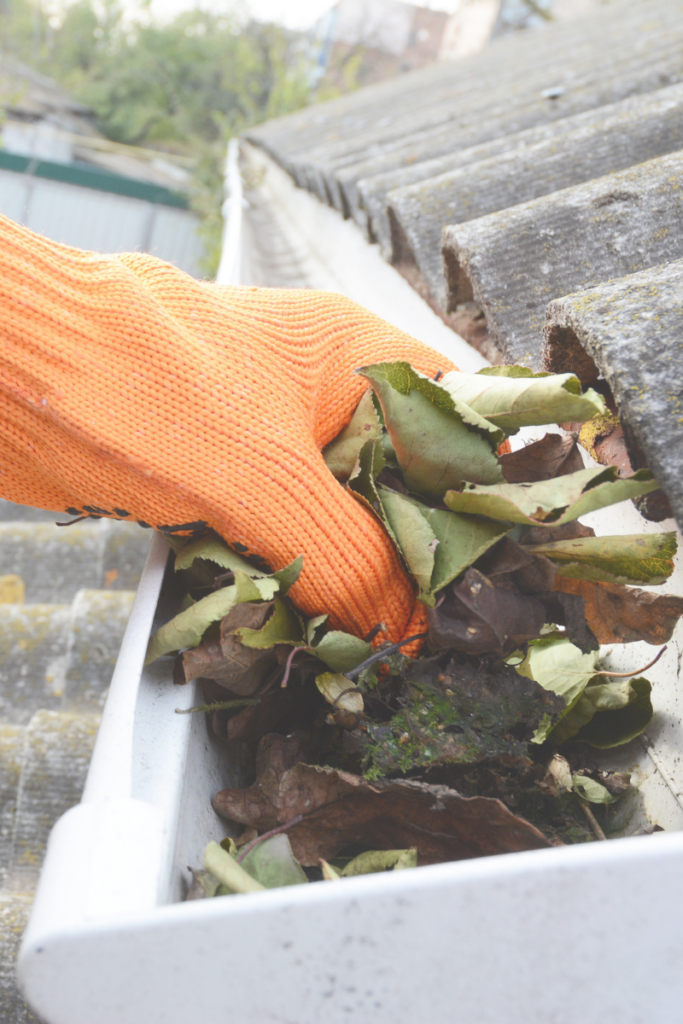 Drains and gutters are often overlooked when getting things organised for the summer, but it's important to pay them some attention. From the autumn through spring, they get full of leaves, weeds, and dirt, which can lead to clogging. Clearing them out can help prevent water damage.