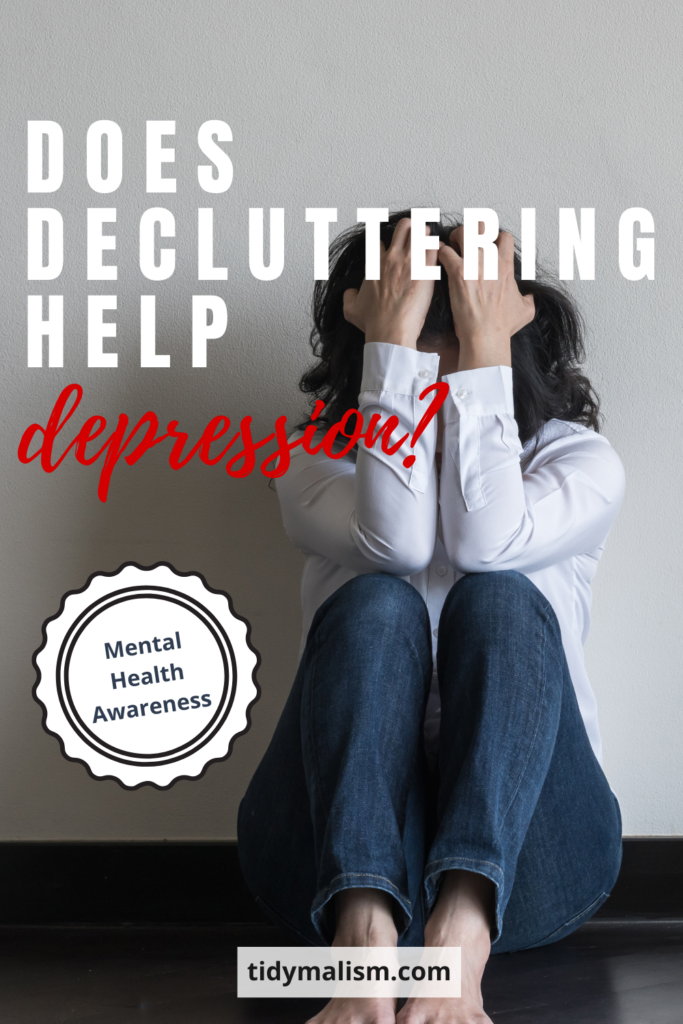 Does Deluttering Help Depression? Clutter is stressful, and more and more people have been suffering from depression and anxiety in these trying times. How can we make things more comfortable for ourselves at home? What is the relationship between clutter and depression? Does decluttering help with depression and anxiety? We discuss how you can find more focus, peace of mind, and comfort at home for your mental well being.